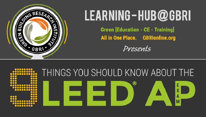 9 things you should know about LEED AP