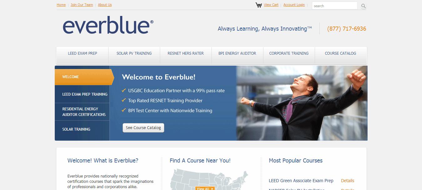 LEED Green Associate Online Training Webinar by Everblue