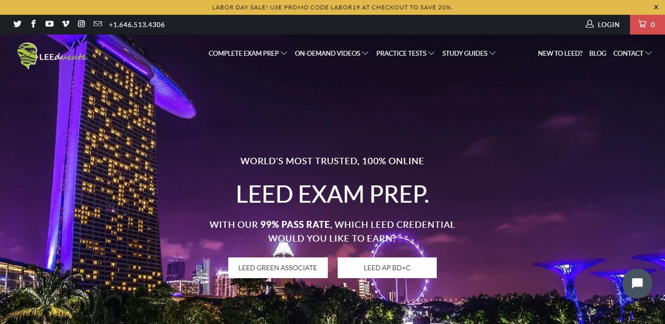 LEED Green Associate V4 Complete Exam Prep by LEEDUCATE