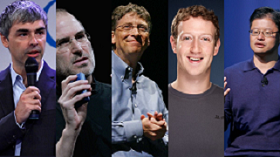 The Big 5:Tech lions competing within the Sustainability territory!