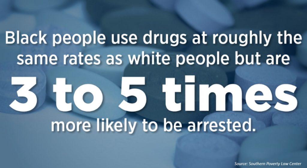 black people use drug