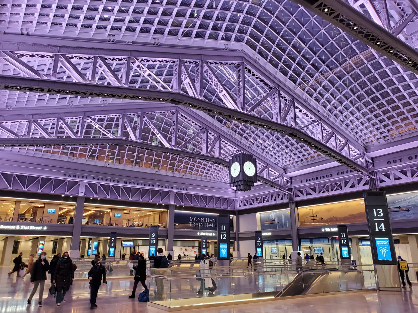 A Bright Start to The New Year with The Moynihan Train Hall