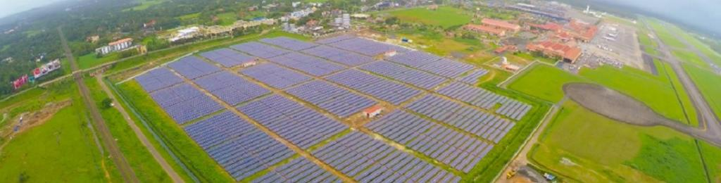 Cochin International Airport: World's first completely solar powered airport